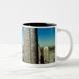Manhattan 3 Two-Tone coffee mug