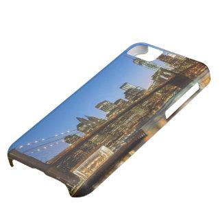 Manhattan and Brooklyn Bridge at dusk iPhone 5C Case