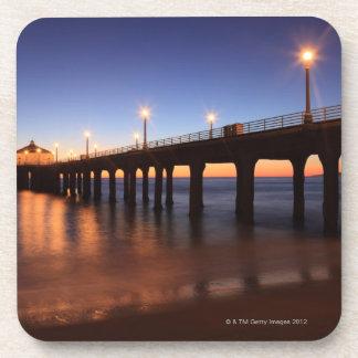 Manhattan Beach Pier at sunset, California Coaster