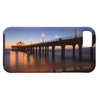 Manhattan Beach Pier at sunset, California iPhone 5 Cover