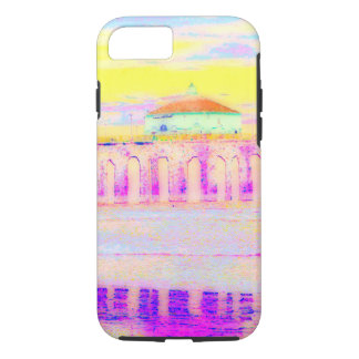 Manhattan Beach Pier California in Pastels iPhone 7 Case