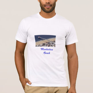 Manhattan Beach Pier Painted, ManhattanBeach T-Shirt