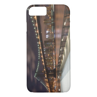 Manhattan Bridge and NYC Skyline iPhone 7 Case