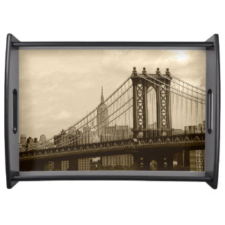 Manhattan Bridge Serving Tray