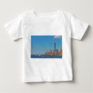 Manhattan Brooklyn New York NYC Baby T-Shirt