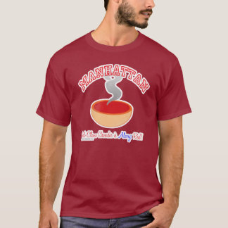 Manhattan Chowder War T-shirt