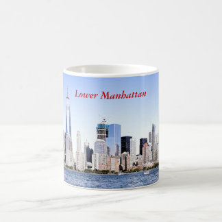 Manhattan Color Sketch Mug