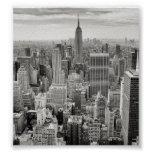Manhattan from Above Print
