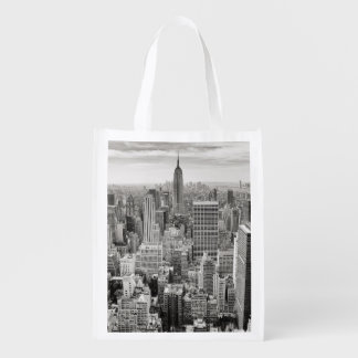 Manhattan from Above Reusable Grocery Bag