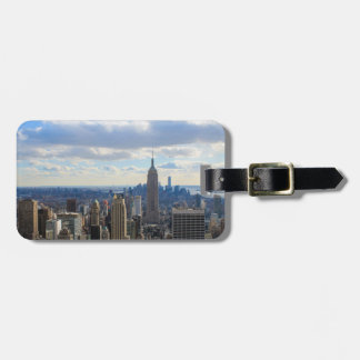 Manhattan from the Top of the Rock, New York City Luggage Tag