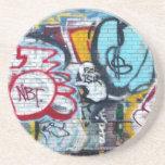 Manhattan Graffiti Coaster