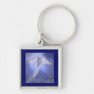 Manhattan Guardian Angel Keychain