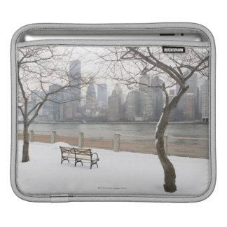 Manhattan in the Winter iPad Sleeve