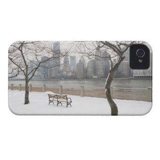 Manhattan in the Winter iPhone 4 Covers