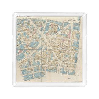 Manhattan Map Acrylic Tray