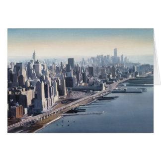 Manhattan Memories New York Watercolor Art Greeting Cards