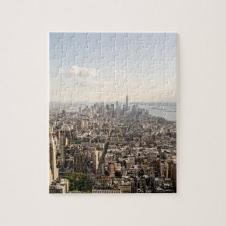 Manhattan New York Aerial View Jigsaw Puzzle