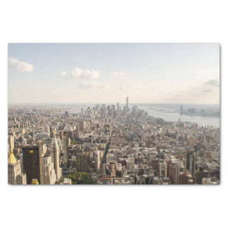 Manhattan New York Aerial View Tissue Paper