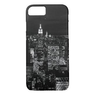 Manhattan New York City Night Skyline iPhone 7 Case