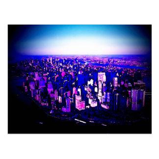 Manhattan New York City Postcard