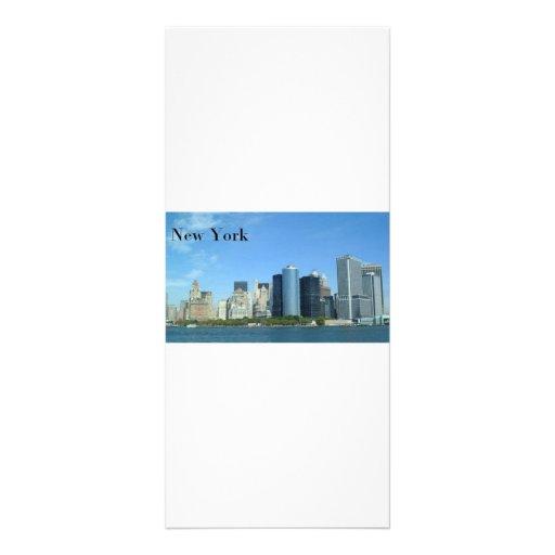 Manhattan New York City (St.K) Customized Rack Card