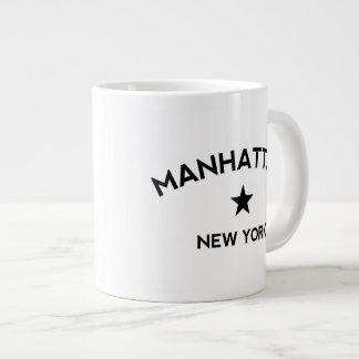 Manhattan New York Large Coffee Mug