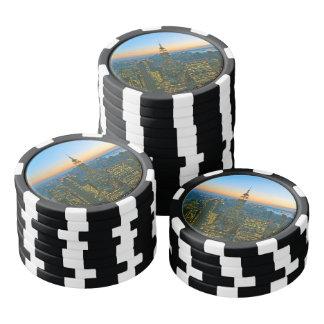 Manhattan New York Poker Chip Set