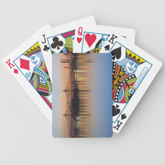 Manhattan Over the East River. Bicycle Playing Cards