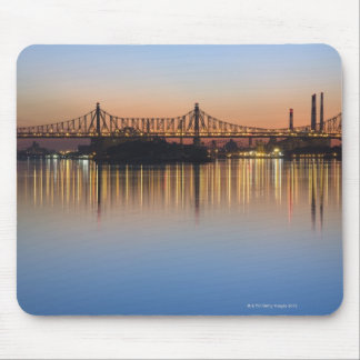 Manhattan Over the East River. Mousepads