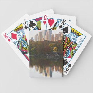 Manhattan Skyline 2 Bicycle Playing Cards