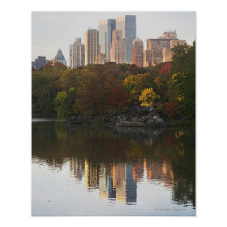 Manhattan Skyline 2 Poster