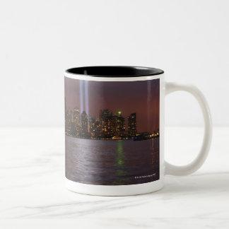 Manhattan Skyline 2 Two-Tone Coffee Mug