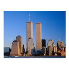 Manhattan Skyline and Hudson River, New York, 2 Postcard