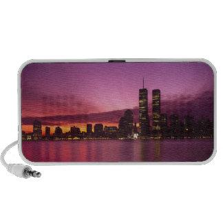 Manhattan Skyline and Hudson River, New York, Mp3 Speaker