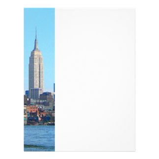 Manhattan Skyline as Seen From Hoboken, NJ 21.5 Cm X 28 Cm Flyer
