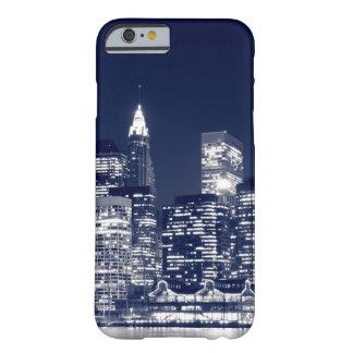 Manhattan Skyline At Night New York City iPhone 6 Case