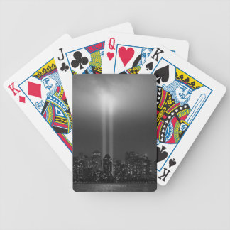Manhattan Skyline Bicycle Playing Cards