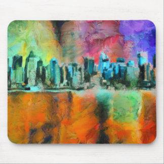 Manhattan skyline mouse mat