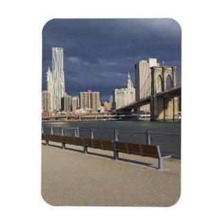 Manhattan skyline, New York City Rectangular Magnet