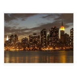 Manhattan Skyline, New York City, New York, USA Postcard