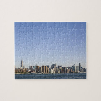 Manhattan Skyline, New York City, NY, USA Jigsaw Puzzle