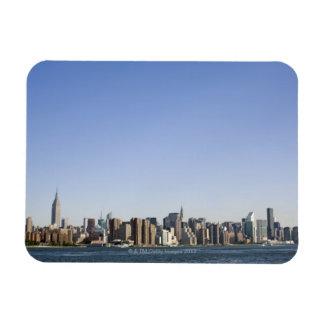 Manhattan Skyline New York City NY USA Vinyl Magnets