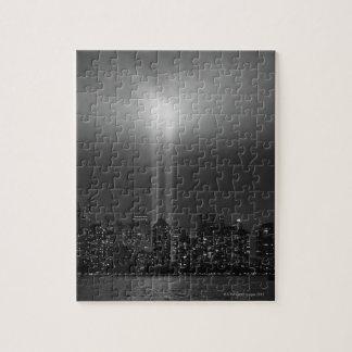 Manhattan Skyline Puzzle