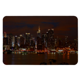 Manhattan Skyline Rectangular Photo Magnet