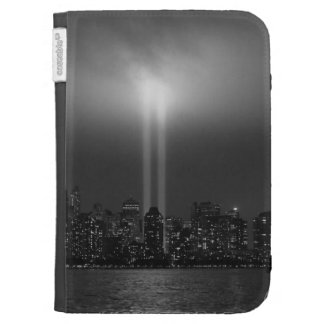 Manhattan skyline with 9/11, New York City Cases For Kindle