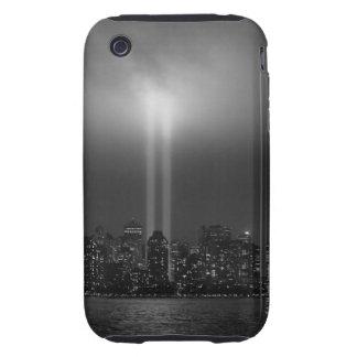 Manhattan skyline with 9/11, New York City iPhone 3 Tough Cases