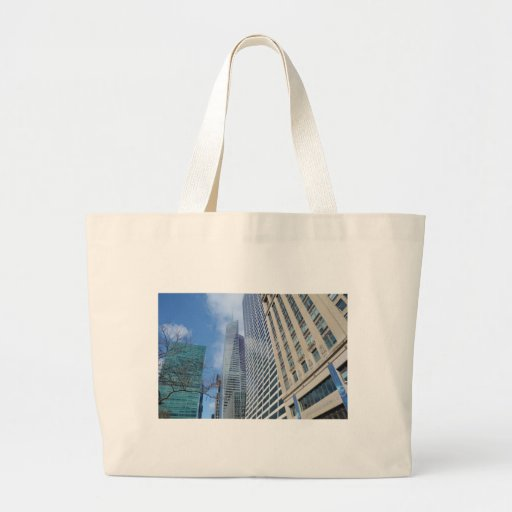 Manhattan Skyscrapers Canvas Bags