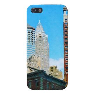 Manhattan Skyscrapers iPhone 5/5S Cover