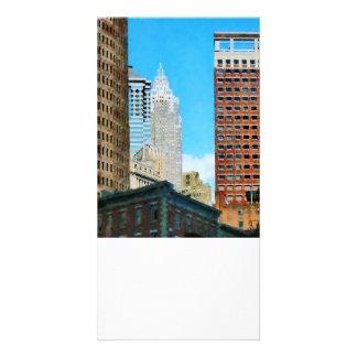 Manhattan Skyscrapers Picture Card