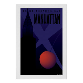 Manhattan (Small Poster) Poster